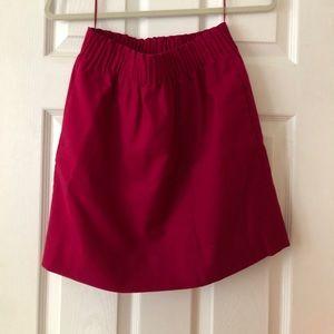 JCrew Paper Bag Skirt High Waisted